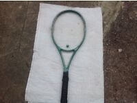 2 X Used Tennis Rackets- Wilson Staff 800ST High Beam and a Slazenger Challenge 2000