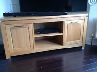 Oak Tv unit and coffee table