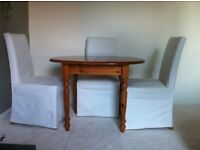Extendable Pine Dining Table For Sale - £25