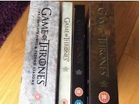 Game of Thrones DVDs Seasons 1-5