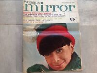 1963 December Woman's Mirror magazine