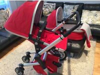 Baby travel system by Joolz, pram and bassinet.