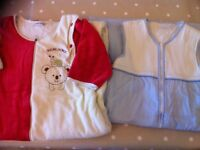 2 toddler sleeping bags (Sucre d'Orge & John Lewis) size 18-36 months