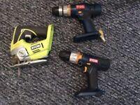 Ryobi 18volt battery tools