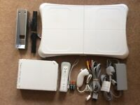 Nintendo Wii Games Console and Balance Board