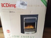 New Dimplex optiflame electric fire