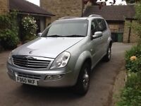 4x4 Ssangyong Rexton diesel auto commercial Mercedes engine low mileage long MOT