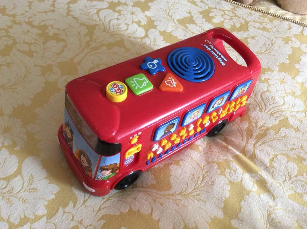 Vtech Red music and phonic bus