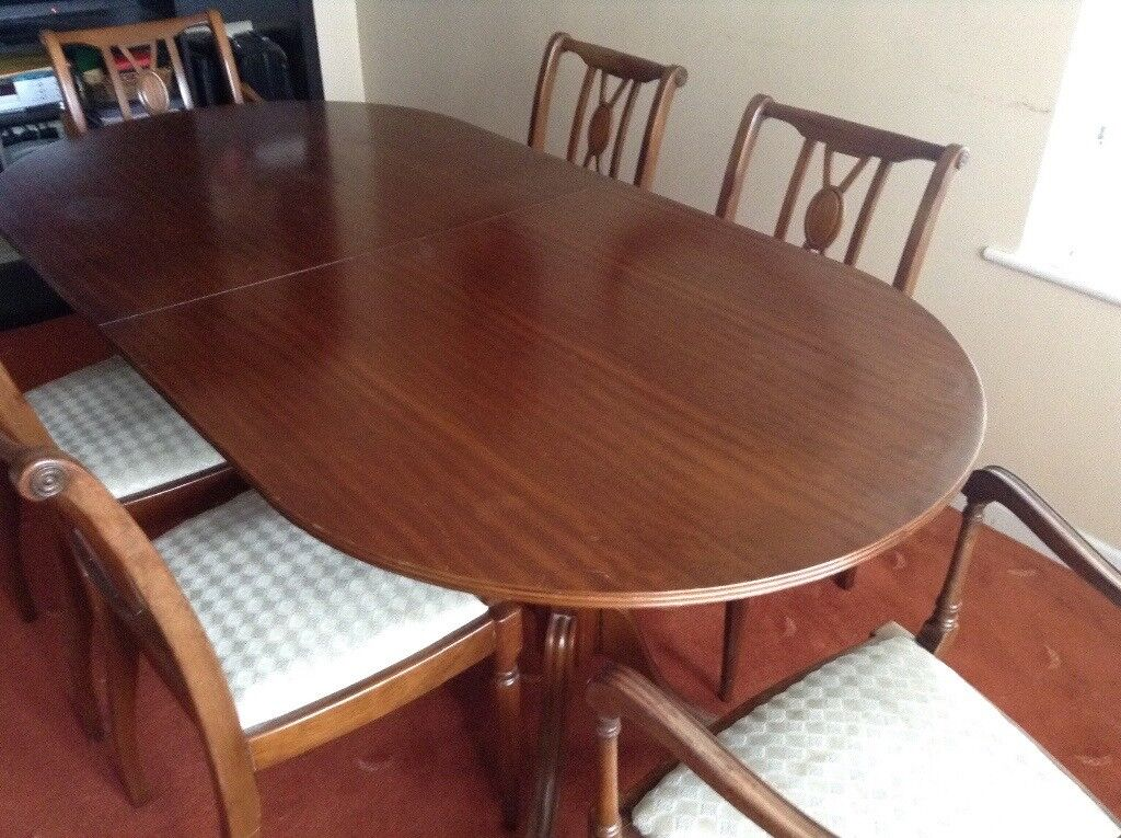 Dining Table With 6 Chairs Paignton Devon 2500 Images Map Iebayimg 00 S NzY1WDEwMjQ
