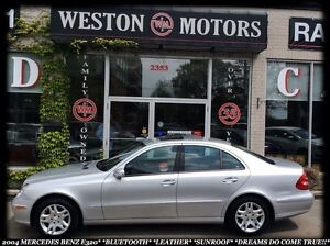 2004 Mercedes-Benz E-Class BLUETOOTH*LEATHER*SUNROOF*AS IS*LOCAL