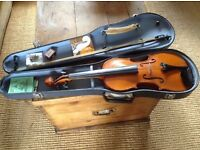 Stentor full size violin and acessories