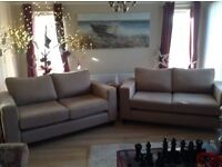 NEW DFS 2 X 2 FABRIC SOFAS RRP 1800 CAN DLEIVER FREE BARGAIN