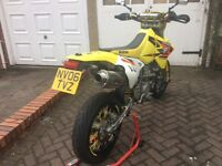 Stunning DRZ400SM 06 plate. Immaculate condition, easily one of the best available. Super clean bike