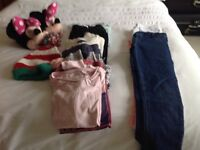 Bundle of girls clothes 9-11 years