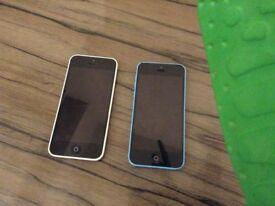 2x iPhone 5c