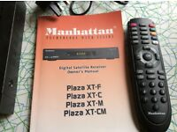 Manhattan digital satellite receiver Plaza XT-M