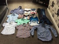 Bundle of boys clothes in aged 7-8/8-9 years all in excellent condition 21 items in total.