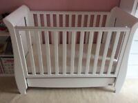 Tutti Bambini 5 piece nursery furniture set