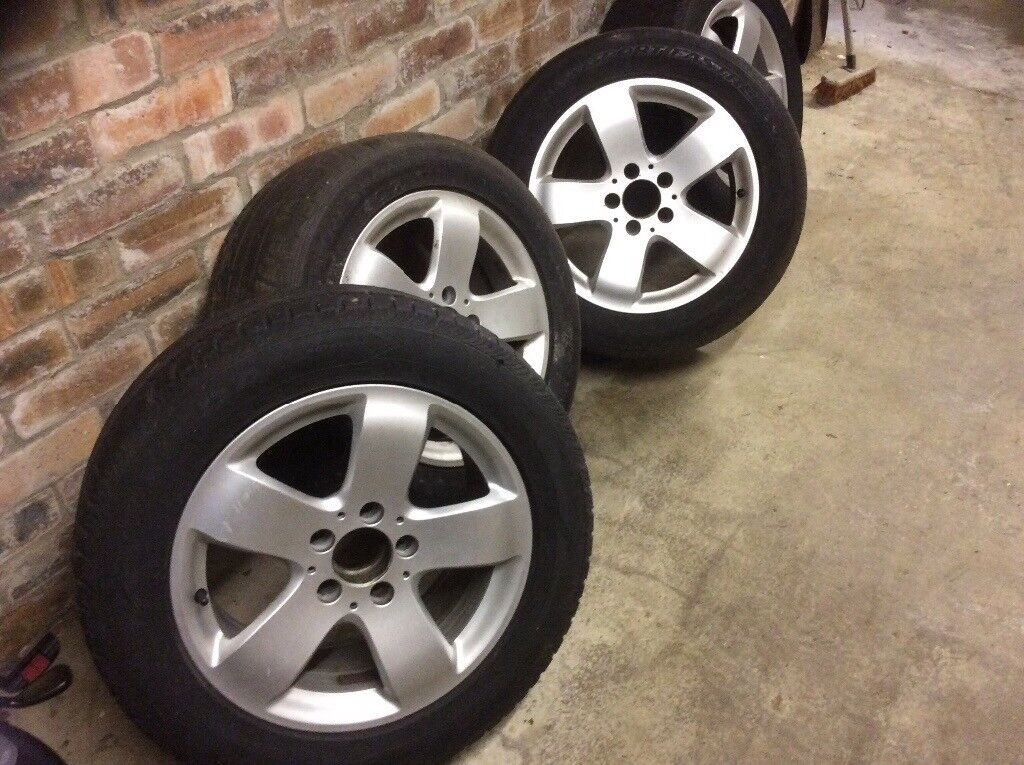"""Four Mercedes Alloys and 16"""" tyres"""