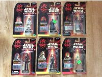 Star Wars Episode 1 - Phatom Menace Figures