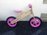 Balance bike - girls