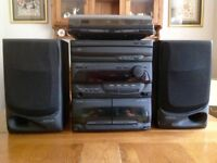 Kenwood UD-302UD Component System/Compact Hi-Fi System with P-100 Turntable