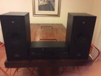 Epos ES14 speakers, Creek 4140s2 amplifier and Marantz CD6000 KI CD player