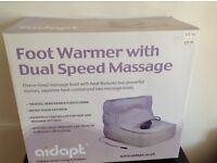 Aid apt heated foot warmer with massage