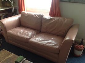 Leather sofa, was £950 new