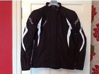 AS NEW - RST Ladies Brooklyn 2 Textile Motorcycle Jacket - Black - Size 18