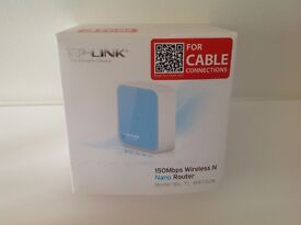 TP Link Nano Router TL - WR702N for PC or MAC