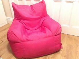 Big Bertha Pink Bean Bag Pick up in Kirkby Lonsdale