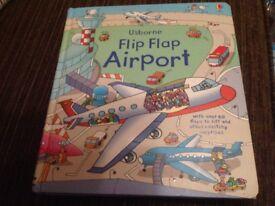 Usborne Flip Flap Airport book