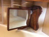 Antique Table Top Mirror