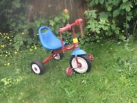 Genuine retro Radio Flyer Fold 2 go trike - Highly collectable brand