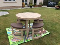 stowaway kitchen table and stools