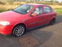 Vauxhall Astra 1.6 dual fuel spares or repairs
