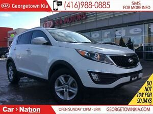 2014 Kia Sportage LX | ONE OWNER ARRIVAL | FULLY KIA CERTIFIED |