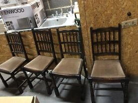 Dining table & 6 chairs Project