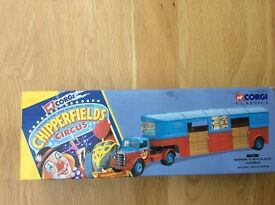 Chipperfields Circus Corgi Classic No 97887 Bedford O Aticulated Horsebox.