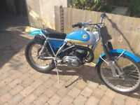 Three trials bike two road Reg beta 270 / bultaco 250 Sherpa and a gas gas 250 contact for spares no