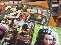 Various Goth magazine