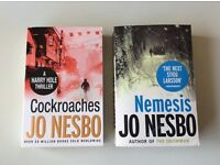 Jo Nesbo Books (Cockroaches/Nemesis)