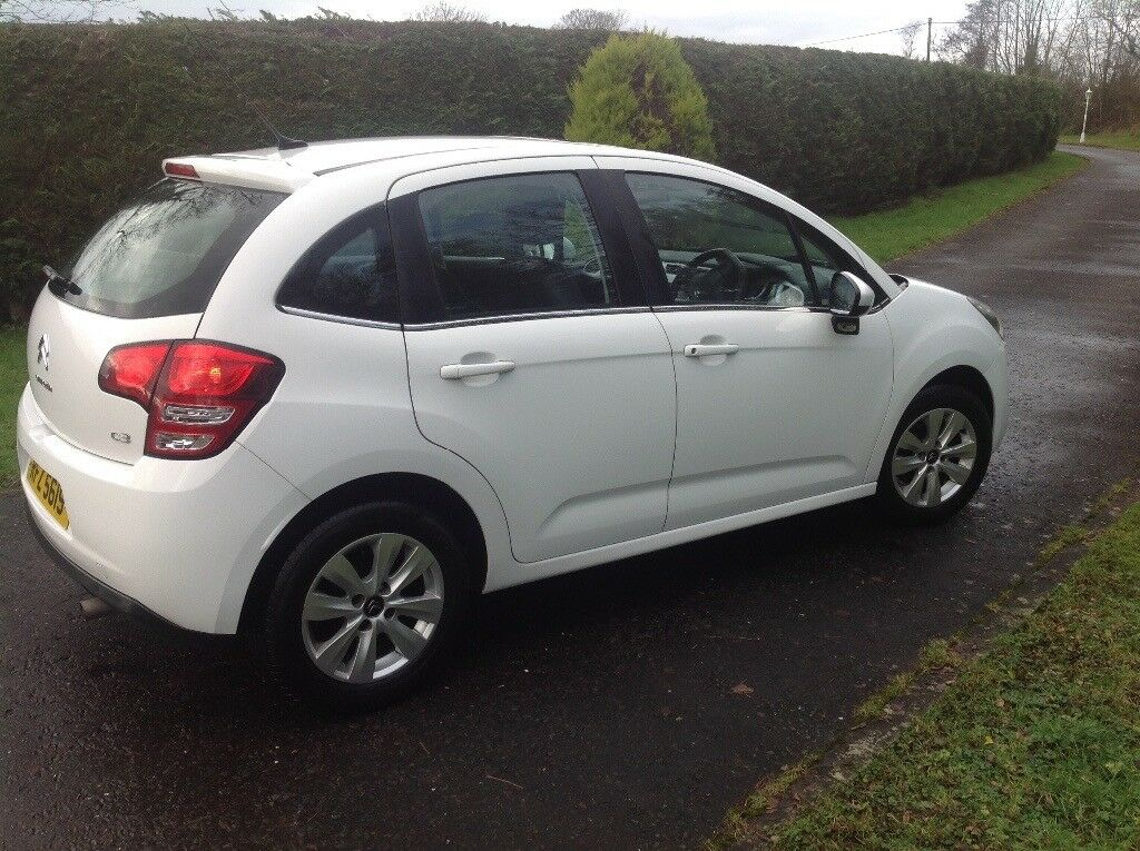 citroen c3 white 1 4 hdi diesel great condition 2013 in. Black Bedroom Furniture Sets. Home Design Ideas