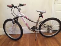 "Specialized Hotrock 24"" (24 inch) Girls Bike Bicycle suitable age range 8-12 years"