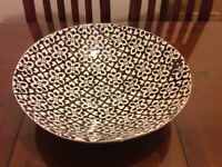 Hand painted decorative bowl.