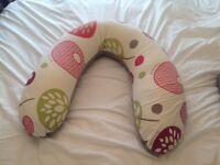 Nursing Pillow - Doomoo Buddy in Tree Berry fabric