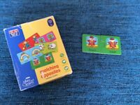 Opposites puzzle, 3+ years, excellent condition