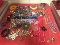 Assorted Costume Jewellery - To Include Necklaces, Bracelets & Bangles