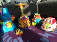 Pre school toy bundle shape sorters